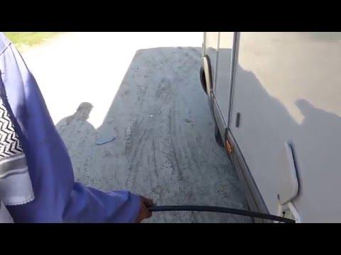 Dubai - pieno di acqua a City Maritime