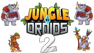 [Let's Play] Jungle VS Droids HD - Trommelpeter!