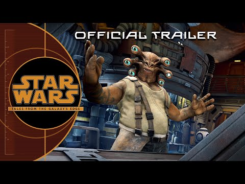 Official Trailer   Star Wars: Tales from the Galaxy's Edge   Oculus Quest