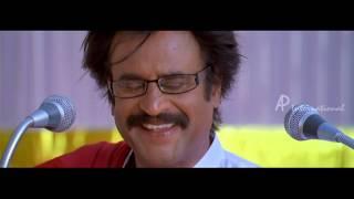 Kuselan Tamil Movie Scenes | Rajinikanth emotional speech in school | Pasupathy | Meena