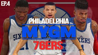 NBA 2K15 My GM Mode Ep.4 - Philadelphia 76ers | HUGE TWIST! | PS4