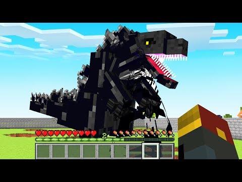 How to Summon GODZILLA in Minecraft (1.14 Datapack)