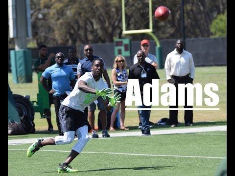 Rodney Adams, USF WR - 2017 Pro Day