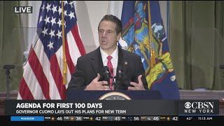 Gov. Andrew Cuomo Outlines Plan For First 100 Days Of New Term