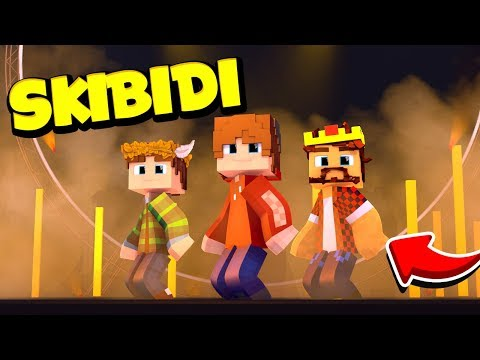 LITTLE BIG — SKIBIDI (Minecraft-Romantic Edition)