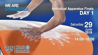 Artistic Gymnastics Junior Worlds Györ, Hungary - Individual Apparatus Finals - Day 1