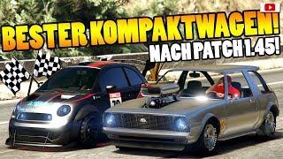 🏁🧐Bester KOMPAKTWAGEN Nach Patch 1.45!🧐🏁Speed+Race Test! [GTA 5 Online After Hours Update DLC]