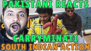 Pakistani Reacts to CARRYMINATI | SOUTH INDIAN ACTION