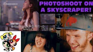 BLACKPINK HOUSE EPISODE 4 PART 1 & 2 (COUPLE REACTION!) | PHOTO-SHOOT ON SKYSCRAPER!