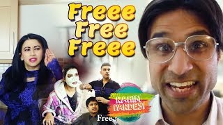 Amazingly Freeeeeee??? | Rahim Pardesi | Desi Tv Entertainment