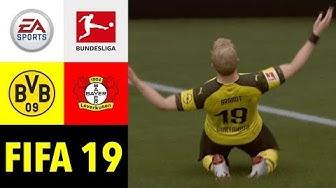 FIFA 19: Borussia Dortmund v Bayer 04 Leverkusen l Bundesliga 2019/20 Prognose [Deutsch HD]