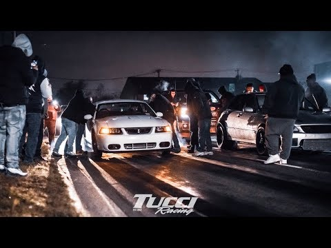 Kenne Bell Cobra VS 2JZ IS300 8200$ Street Race Right Past A COP!! Heads Up On The Street!!