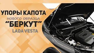 Упоры капота Беркут нового образца для Лада Веста(, 2018-02-02T19:38:23.000Z)