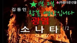 [광염소나타 1,2부 합본 / 김동인] 한국단편소설 (…