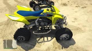 Grand Theft Auto 5 - Suzuki LTR 450 ATV Mod! - GTA 5