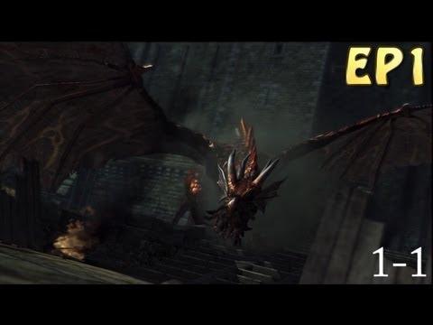 Demon's Souls Guide - Boletarian Palace, Monumental Phalanx (EP1)