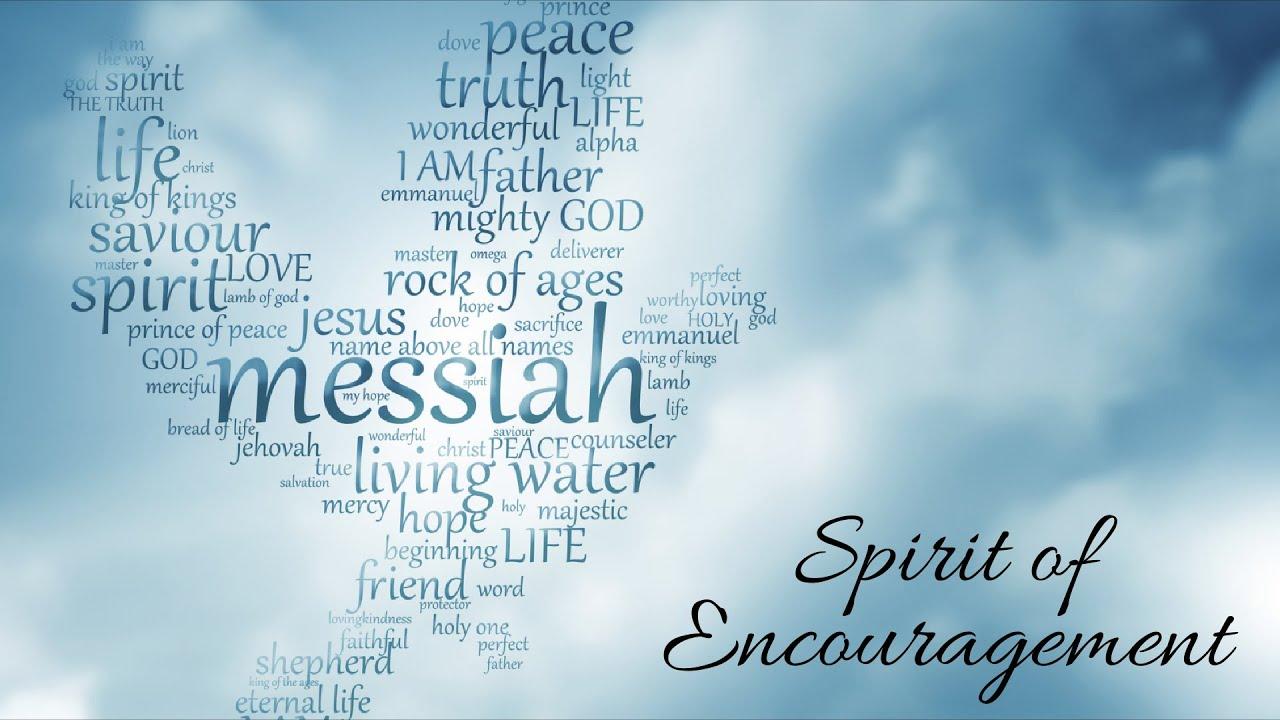 SPIRIT OF ENCOURAGEMENT-Sunday Service 9.13.20