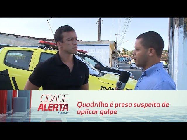 Quadrilha é presa suspeita de aplicar golpe em agência bancária, em Marechal