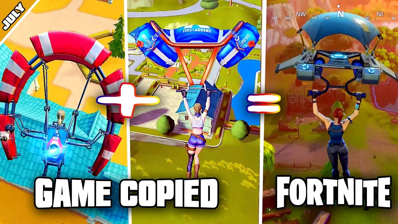 Top 5 Game That Copied Fortnite Battle Royale In July 2018