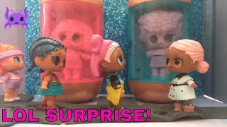 LOL Surprise! | Stop Motion Video | The Visitors | Featuring L.O.L. Surprise Under Wraps Dolls! 🚀