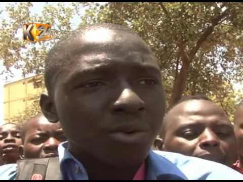 2 Voi Journalists beaten by GSU officers while covering a bodaboda protest