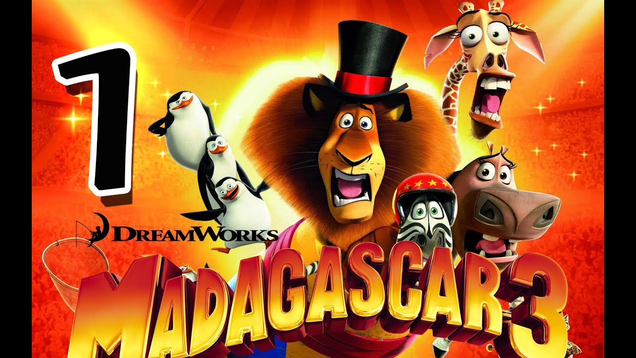 Madagascar 3 The Game Walkthrough Part 1 PS3 X360 Wii Mission