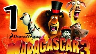Madagascar 3 The Game Walkthrough Part 1 PS3, X360, Wii Mission 1