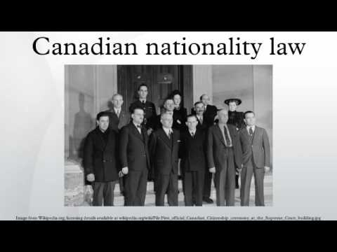 Canadian nationality law