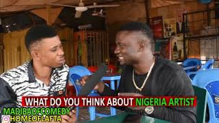 What do you think about Nigeria MUSIC ARTIST - Madibacomedycomng