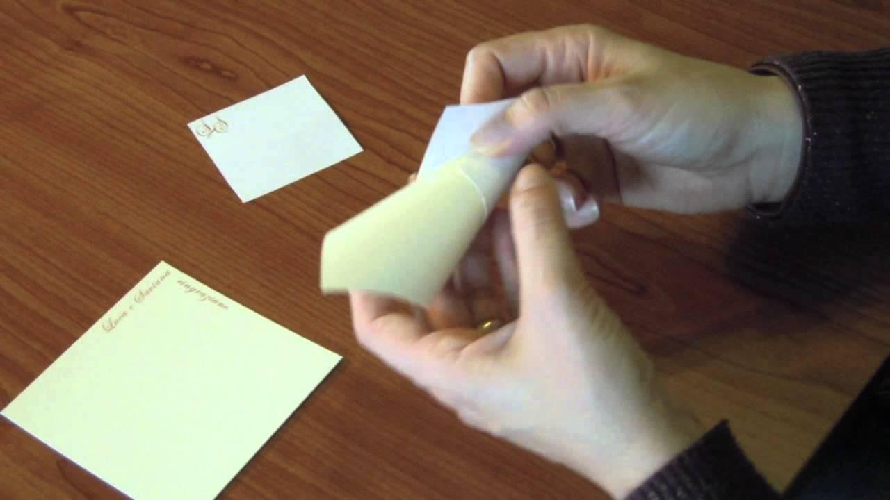 Popolare Tutorial conetti portaconfetti di stile faidate - YouTube KI73