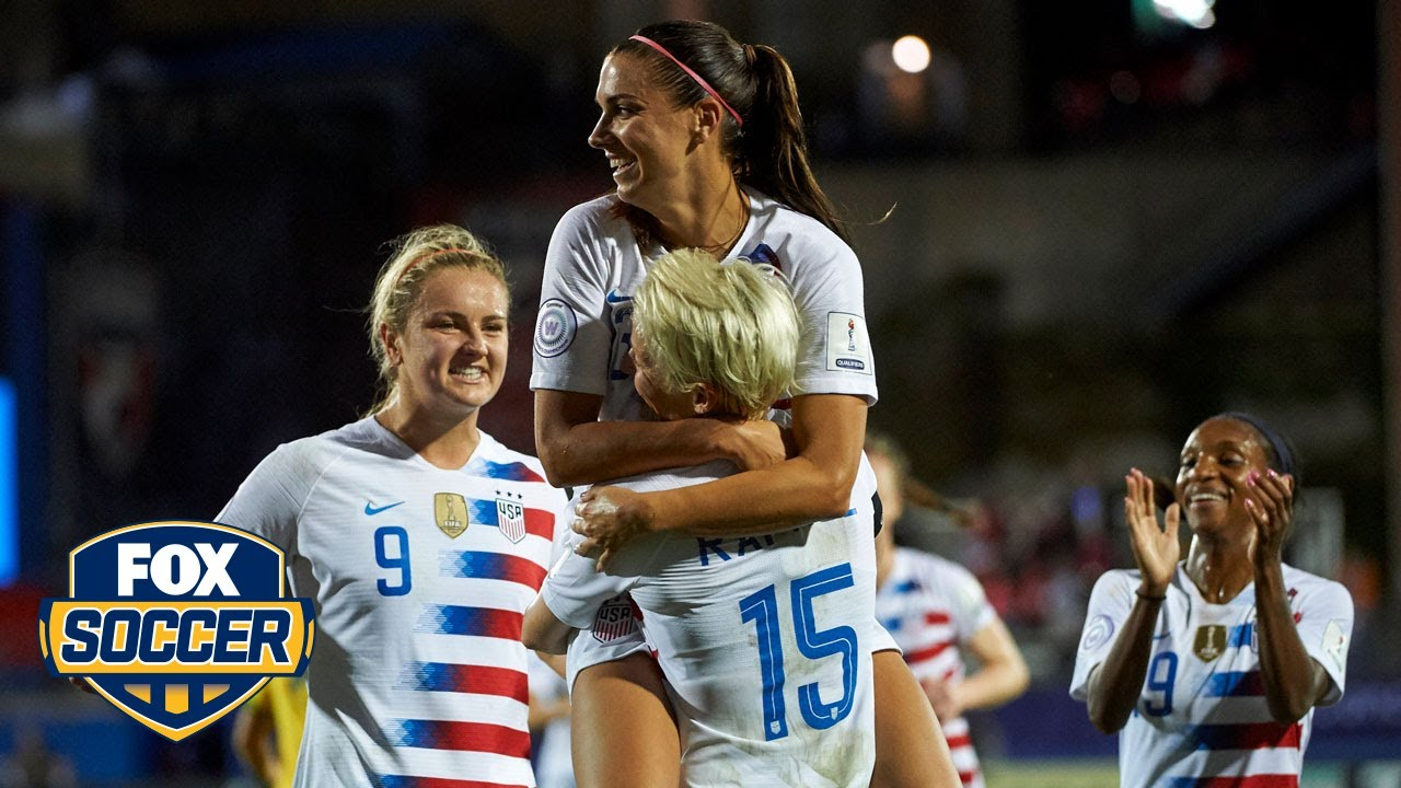 Alex Morgan and USWNT book spot in 2019 FIFA Women s World Cup ... 926229d30