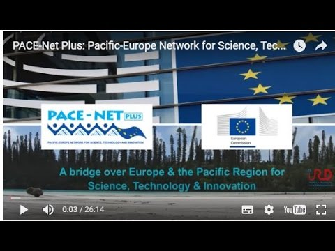 PACE Net Plus Pacific Europe Network for Science, Technology & Innovation