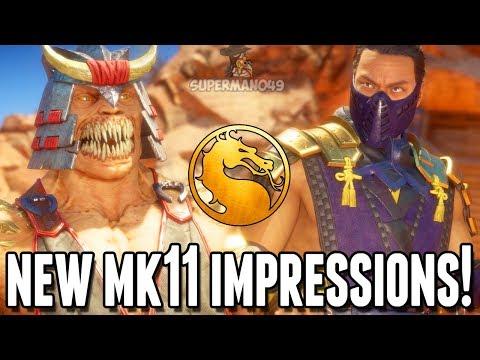 MY MOST IMPORTANT THING TO MAKE MK11 MORE FUN! - Mortal Kombat 11 Online Beta Impressions thumbnail