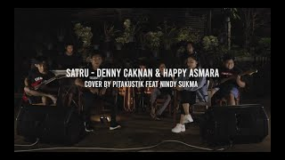 SATRU DENNY CAKNAN Feat HAPPY ASMARA (Pitakustik Cover) Feat NINDY SUKMA