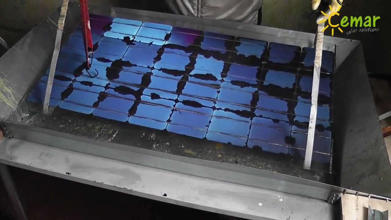 Zr 243 B Sam Panele Solarne Make Your Own Pv Panels Youtube