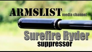 surefire ryder 22 long rifle suppressor