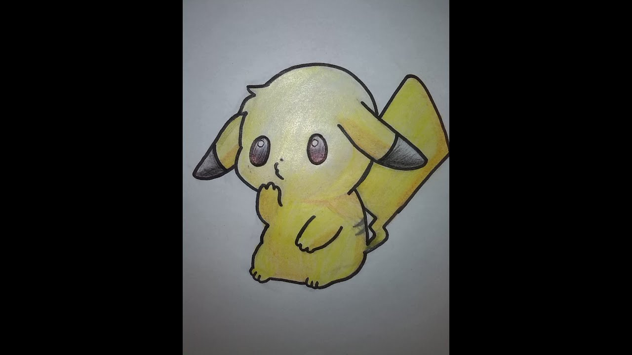 como dibujar a pikachu bebe respuestas pacticas  YouTube