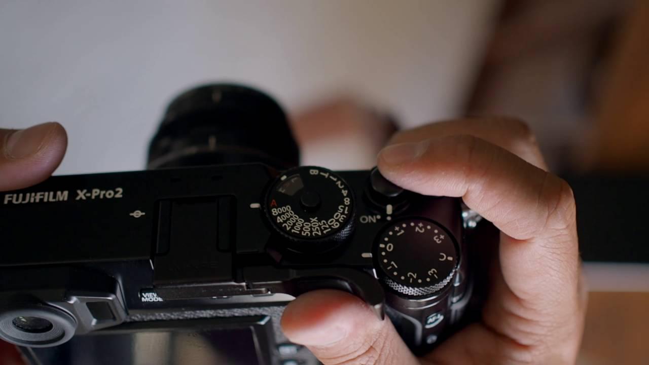 Fujifilm X-Pro2 (also fits X-Pro1) Folding Thumbrest by Lensmate