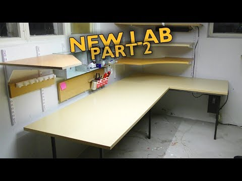 Furniture with FF | Lab overhaul pt. 2, Trash Turned Awesome