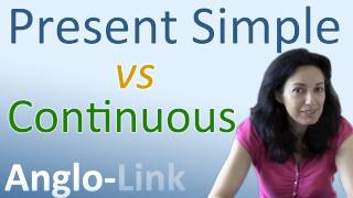 Скачать Present Simple Vs Present Continuous Learn English Tenses Lesson 1