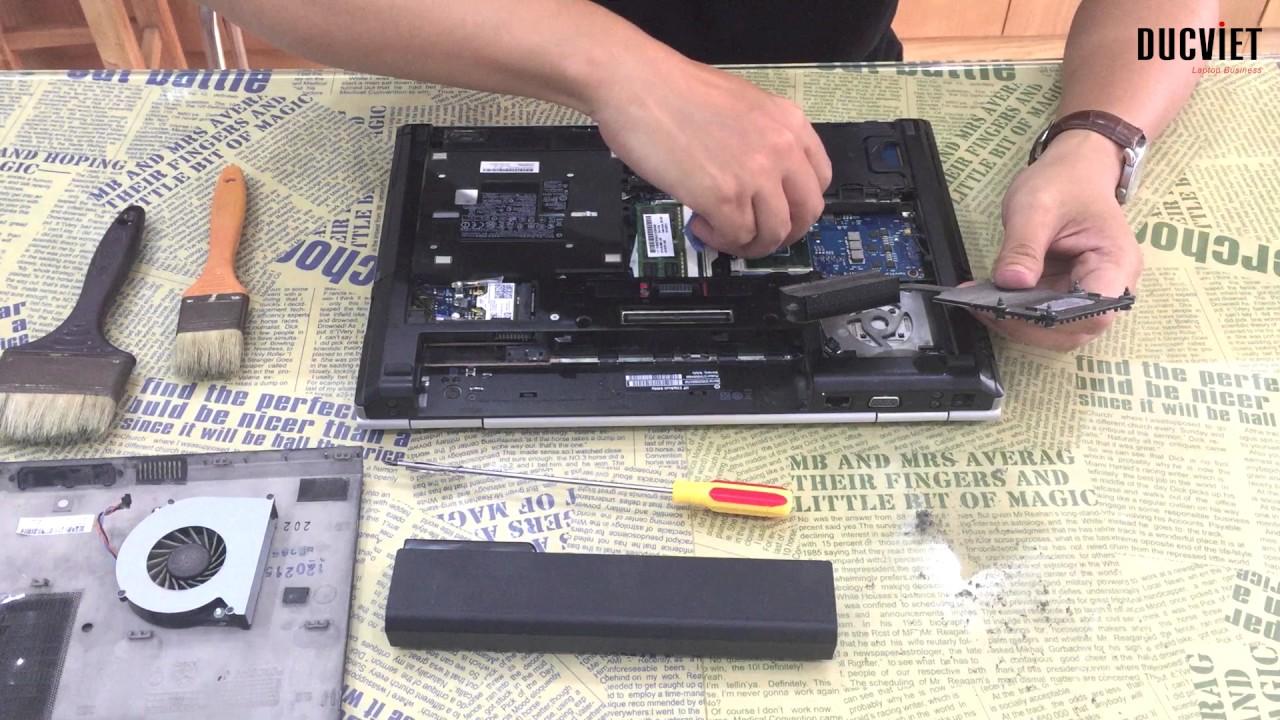 Laptop HP EliteBook 8460p & 8470p   Hướng dẫn tự vệ sinh, tháo lắp nâng cấp ram và ổ cứng   Đức Việt