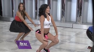 "Lexy Twerks Out with the Ladies of ""The Real"""