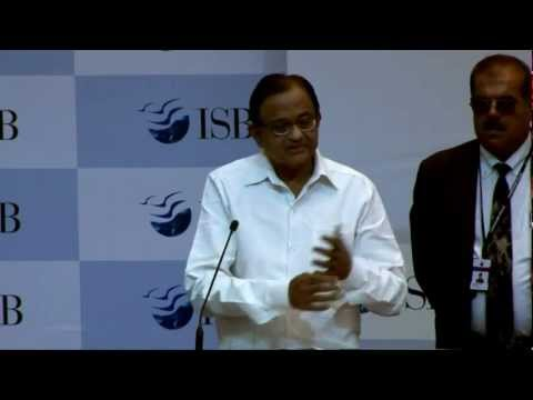 Sri P Chidambaram at the Mohali campus of the Indian School of Business