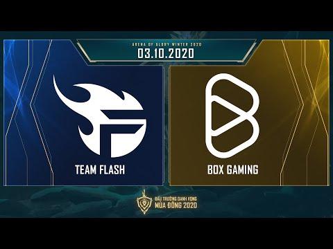 Team Flash vs BOX Gaming | FL vs BOX - Vòng 11 ngày 1 [03.10.2020] - ĐTDV mùa Đông 2020