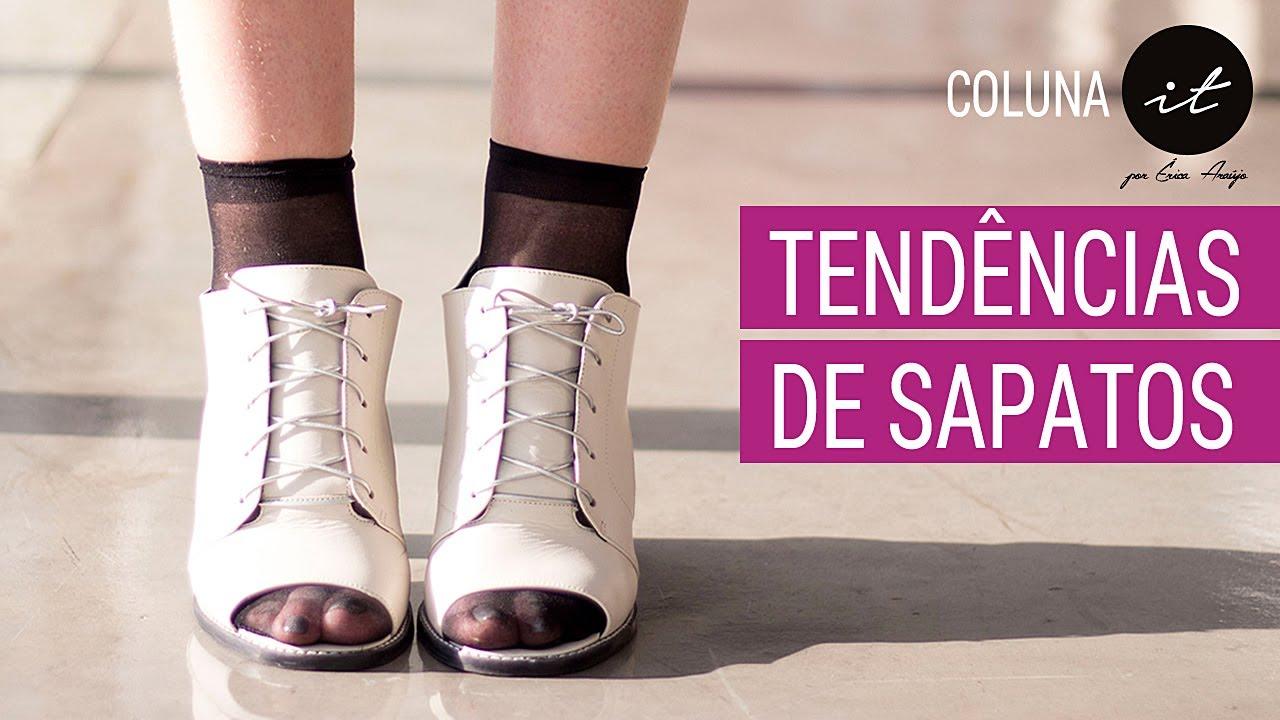 cdf67e618 Tendências Sapatos Moda Inverno 2017   Moda Inverno 2017 - Sapatos Femininos