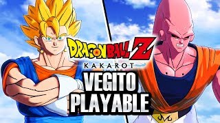 Dragon Ball Z Kakarot - NEW VEGITO PLAYABLE CHARACTER LEAK! Z-Sword Gohan & Kid Buu BOSS Info!