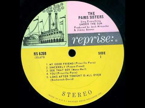 The Paris Sisters -  Long After Tonight Is All Over