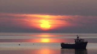 Timelapse of Sunset over Galway Bay