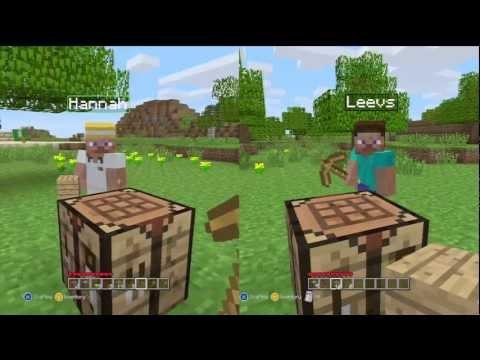 Minecraft: Xbox 360 Edition (Split-Screen) | Part 1 | GOING IN BLIND