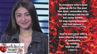 Nadine Lustre breaks silence on teenage brother's death; slams bashers
